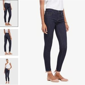 Ann Taylor Performance Stretch Skinny Jeans